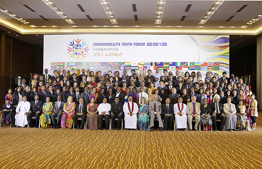 Opening Ceremony of the Commonwealth Youth Forum