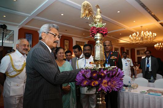 Sri Lanka Defence Secretary Gotabhaya Rajapaksa at 4th annual galle dialogue