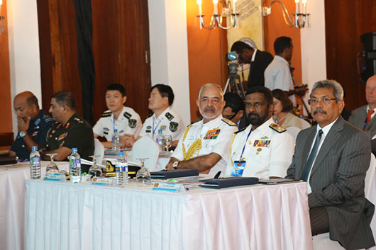 Sri Lanka Defence Secretary Gotabhaya Rajapaksa at 4th annual galle dialogue