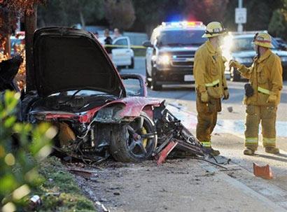 Fast & Furious actor Paul Walker dies in car crash