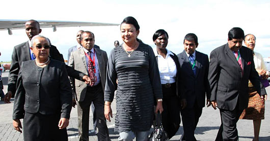 President Rajapaksa and First Lady Begin Four-Day State Visit in Kenya
