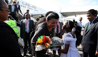 President Rajapaksa and First Lady Begin Four-Day State Visit in Kenya
