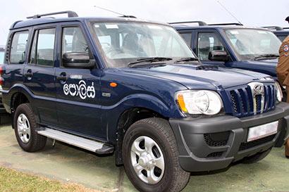 Sri Lanka Police Vehicle (Jeep)