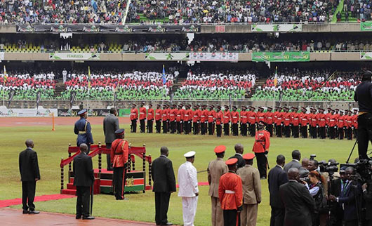 Sri Lanka President and First Lady attend Kenya's 50th Independence Day Celebrations