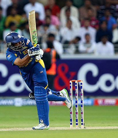 T.M.Dilshan Batting