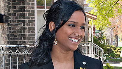 Canada's first Tamil MP Rathika Sitsabaiesan