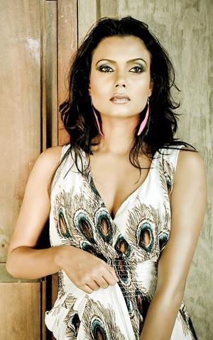 Actress Gayesha Perera