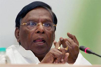 Union Minister V. Narayanasamy