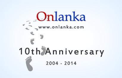 Onlanka.com Celebrates its 10th Anniversary