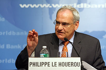 Philippe Le Houerou - World Bank Vice President for the South Asian Region
