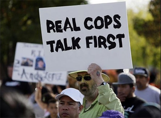 Real Cops Talks First