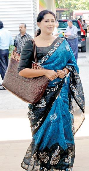 Actress Ruwanthi Mangala