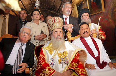 Sri Lanka President and First Lady Visit Church of the Nativity