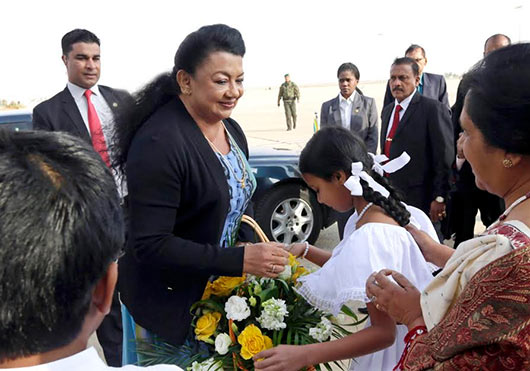 Sri Lanka President Mahinda Rajapaksa arrives in Jordan