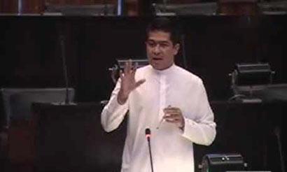 UNP MP Sujeewa Senasinghe