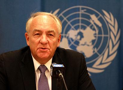 US Ambassador for Global Criminal Justice Stephen Rapp