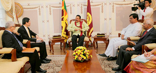 UN Assistant Secretary General and UNDP Asia Pacific Director meets Sri Lanka President Rajapaksa