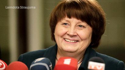 Prime Minister of Latvia Laimdota Straujuma