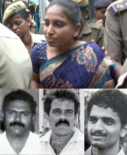 Rajiv Gandhi killers (clockwise from top) Nalini, Perarivalan, Murugan and Santhan. The Tamil Nadu Government on Wednesday decided to release all the convicts related to the case.