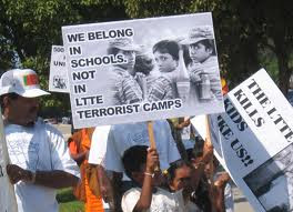 Against LTTE child soldiers