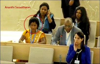 Ananthi Sasasitharan in Geneva