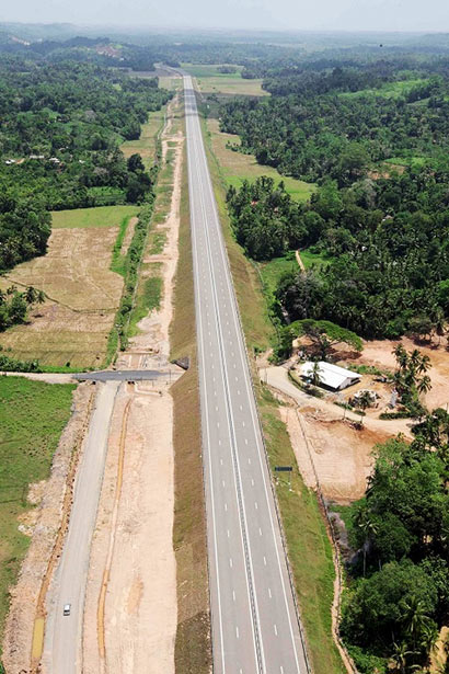 The second phase of the Southern Expressway - Galle to Matara