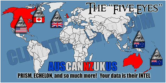 The five eyes