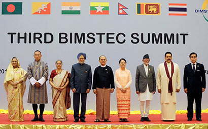 Third BIMSTEC Summit in Myanmar
