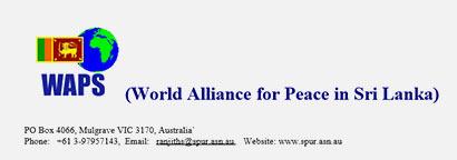 World Alliance for Peace in Sri Lanka