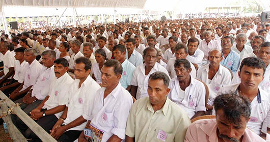 5550 farmer families in Mahaweli B and C Zones receive land deeds