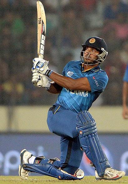 Kumar Sangakkara at last twenty 20 match