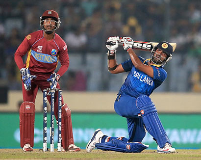 Lahiru Thirimanna batting