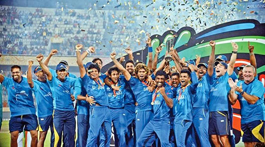 Sri Lanka won a record second cricket World Cup cricket title beating India by six wickets in the World T20 final played in Dhaka, in Bangladesh in April 2014