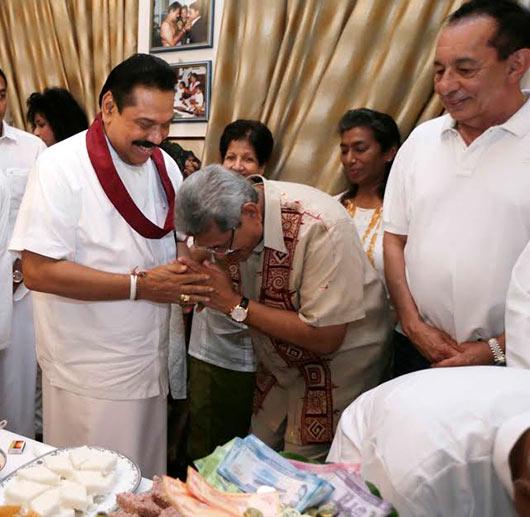 Sri Lanka's First Family celebrates traditional New Year at Carton House