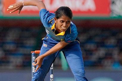 Udeshika Prabhodhani - Sri Lankan Cricketer