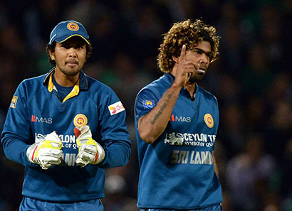 Dinesh Chandimal and Lasith Malinga