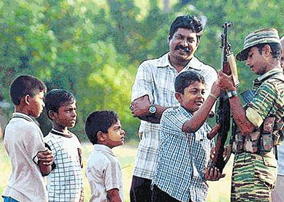 LTTE Child Soldiers