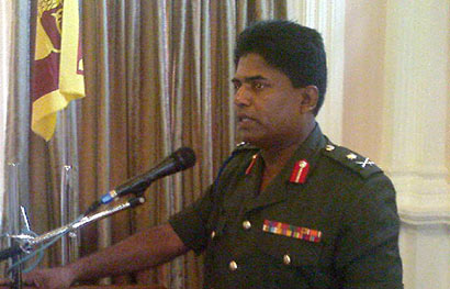 Major General Prasad Samarasinghe