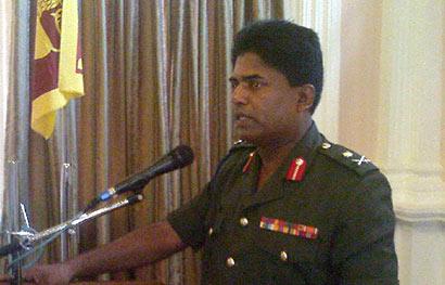 Major General Prasad Samarasinghe
