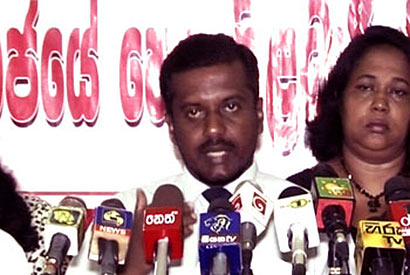 Saman Ratnapriya - President of the Government Nursing Officers' Association (GNOA)
