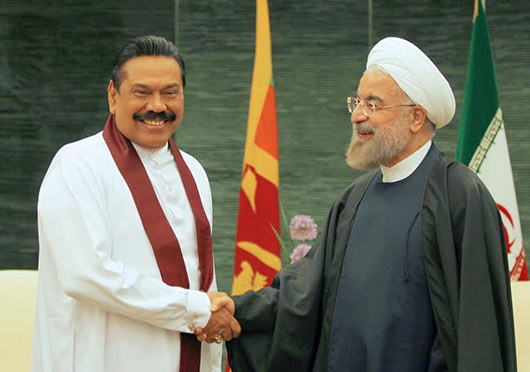 Sri Lanka President holds discussions with Iranian President