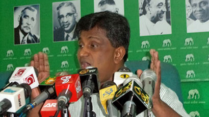 Kalutara District UNP MP Ajith P Perera