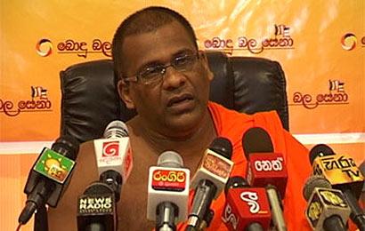 Bodu Bala Sena General Secretary Ven. Galagodaaththe Gnanasara Thero