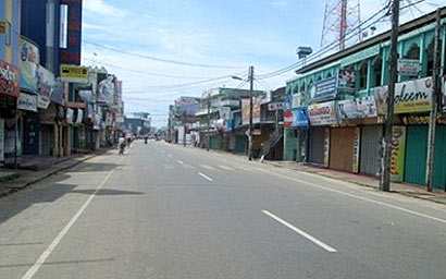 Hartal in Ampara