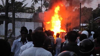Sri Lanka Dharga Town Clashes