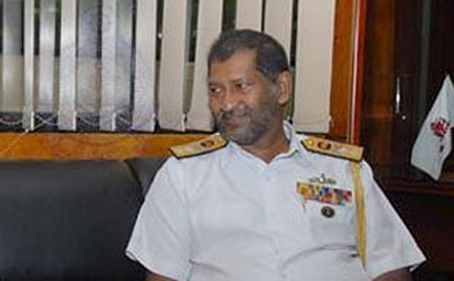 Sri Lanka Navy's Chief of Staff Jayantha Perera