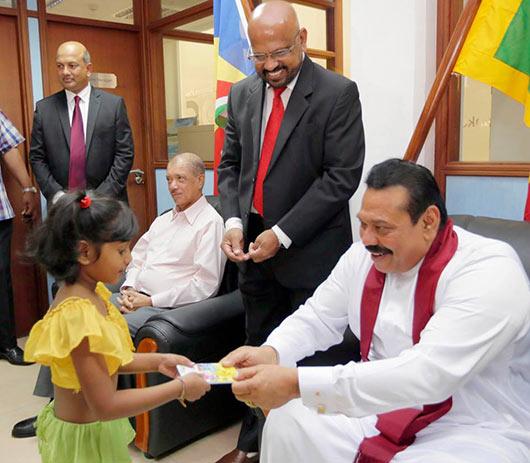 Sri Lanka President Rajapaksa Opens New Branches of Mihin Lanka, Bank of Ceylon, Sri Lanka Insurance and Nawaloka Medical Center in Seychelles