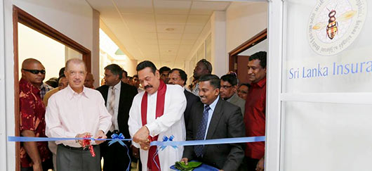 Sri Lanka President Rajapaksa Opens New Branches of Mihin Lanka, Bank of Ceylon, Sri Lanka Insurance and Nawaloka Medical Center in Seychelles