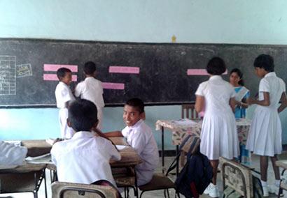 Sri Lanka School Class Room