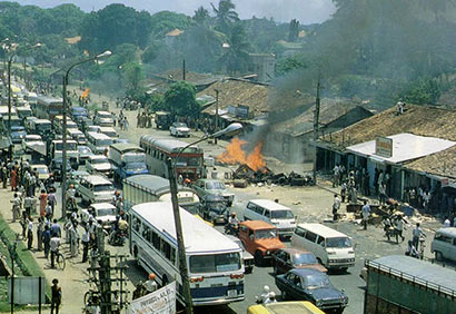 Black July 1983 Sri Lanka